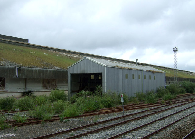 Works and engine shed, St Mewan