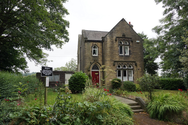 Lodge at  Liversedge Cemetery