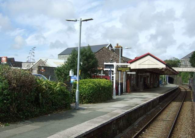 Platform 2, Redruth Railway Station