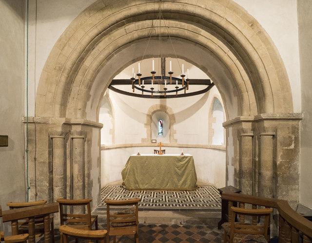 St Michael, Newhaven - Chancel