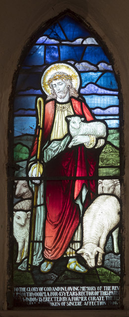St Michael, Newhaven - Stained glass window