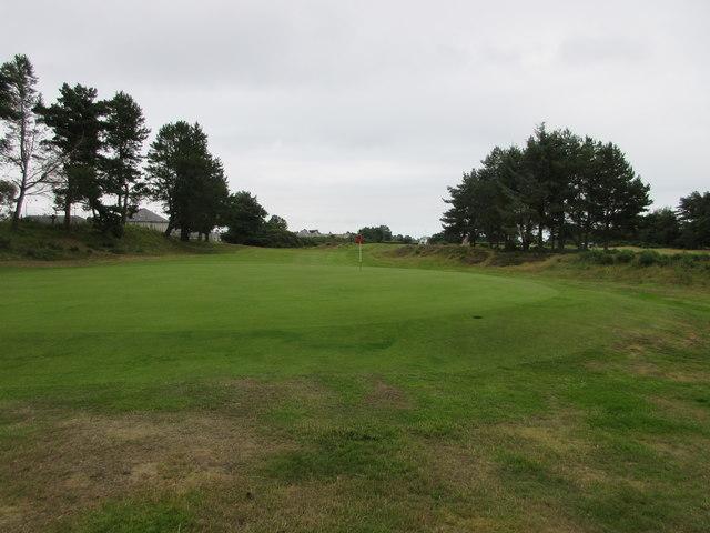 Scotscraig Golf Course, 1st hole, Admiral