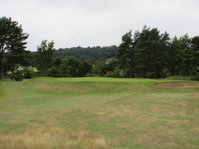 Scotscraig Golf Course, 4th hole, Westward Ho