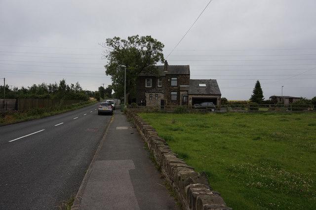 Peep Green Road at Beggerington