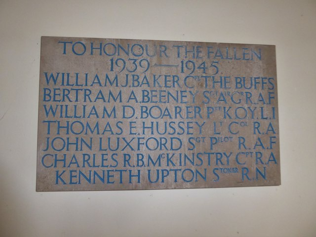 St. Peter, Stonegate: memorial (6)
