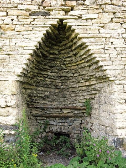 Skears lime kilns - arch of kiln 3