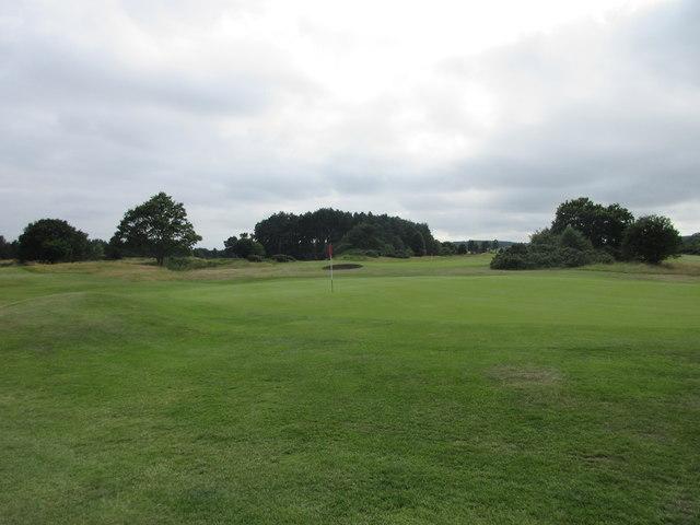 Scotscraig Golf Course, 9th hole, Flagstaff