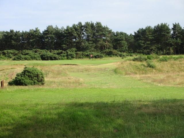 Scotscraig Golf Course, 13th hole, Island