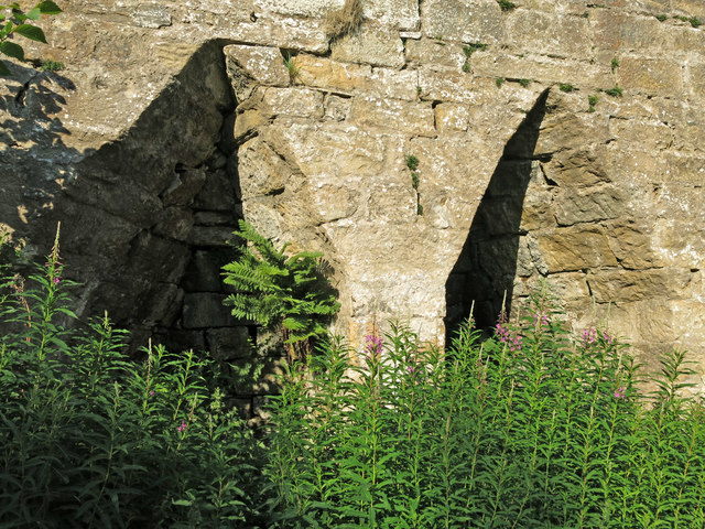 Skears lime kilns - arches of kiln 4