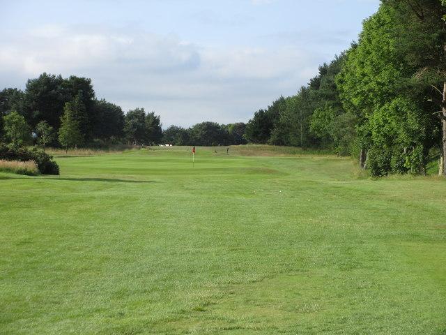 Scotscraig Golf Course, 15th hole, Burn