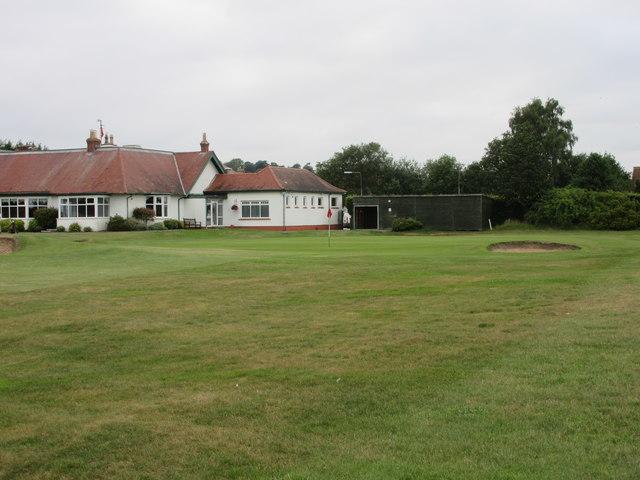 Scotscraig Golf Course, 18th hole, Home