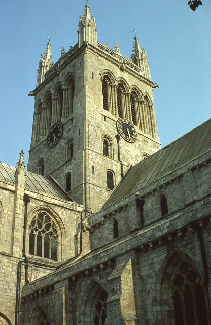 Tower of Selby Abbey