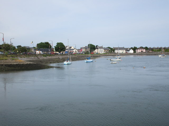 The north side of Dungarvan Harbour