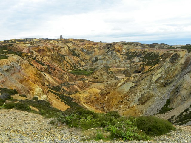 The great opencast, Parys Mountain