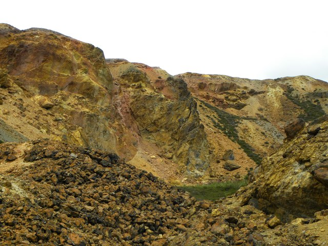 Down in the big opencast