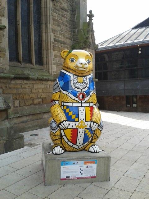 Birmingham Big Sleuth Brummie Bear
