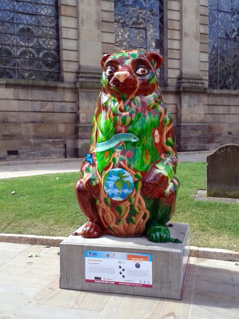 Birmingham Big Sleuth Bear Necessities Bear