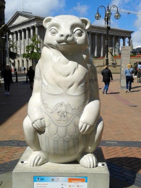 Birmingham Big Sleuth Marcus Bearlious Bear