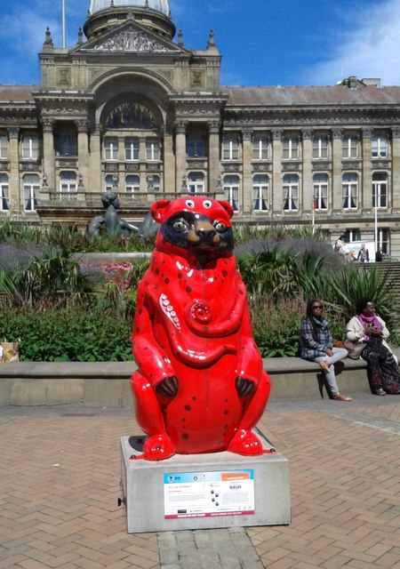 Birmingham Big Sleuth Olly The Octobear  Bear