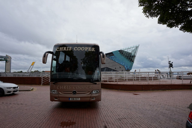 Chris Cooper Coach on Nelson Street, Hull
