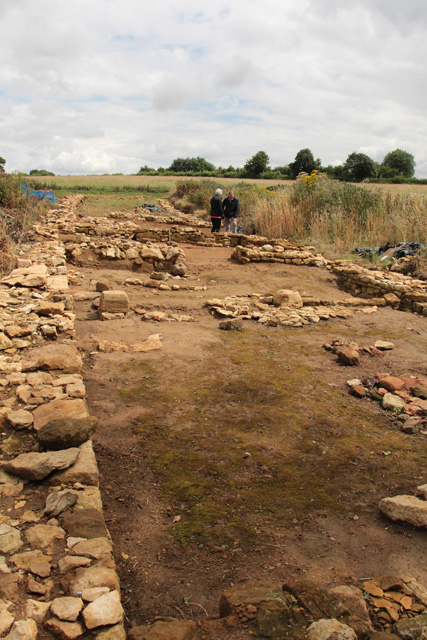 Croxton Kerrial 12thC Medieval Manor House: excavations (8)
