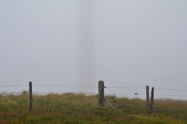 Ghostly turbine, Hardrig Head