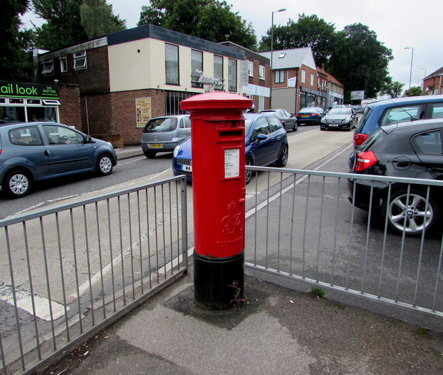 King George VI pillarbox, Bournemouth Road, Chandler's Ford