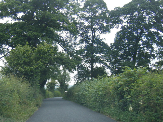 Edisford Road west of Clitheroe