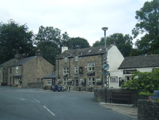 Waddington Arms from Belle Vue Lane