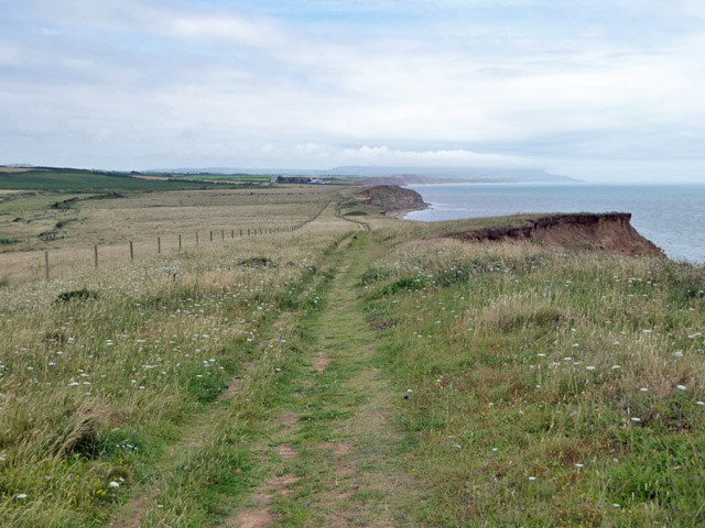 Coastal path looking east
