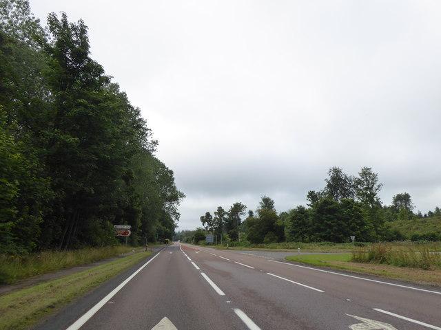 Junction for Miltonduff