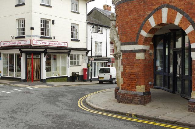 Market Hall and old Post Office, Presteigne