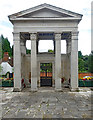 TQ2292 : Gate of Honour, Mill Hill School by Julian Osley