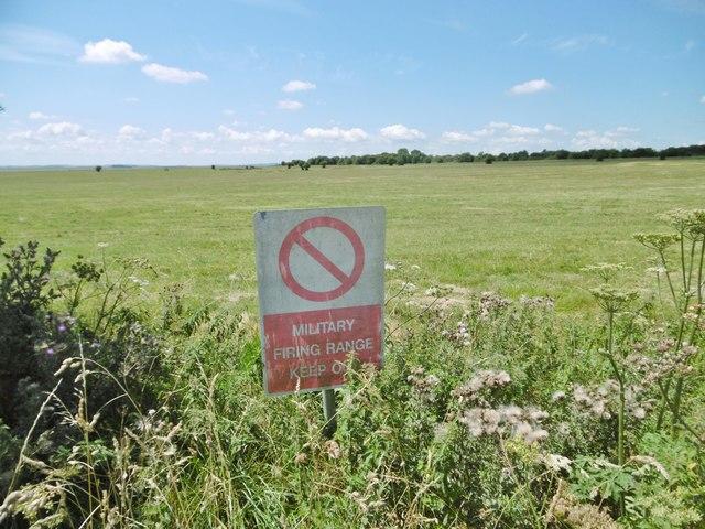 Little Cheverell, warning sign