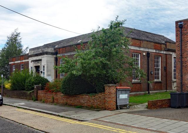 Mill Hill public library, Hartley Avenue
