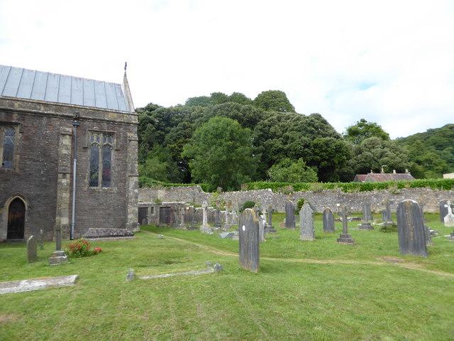 All Saints, Wraxall: churchyard (b)