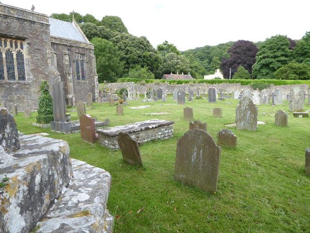 All Saints, Wraxall: churchyard (c)