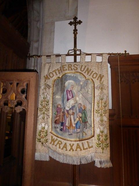 All Saints, Wraxall: banner (a)