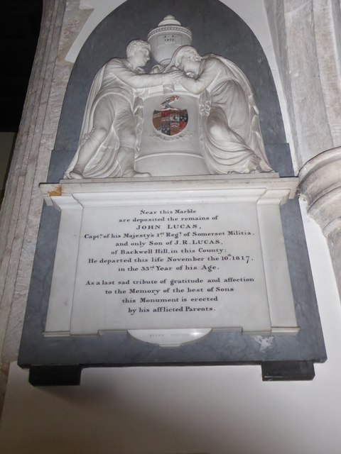 All Saints, Wraxall: memorial (a)
