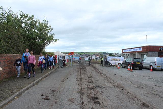 Entrance to Stranraer Agricultural Show