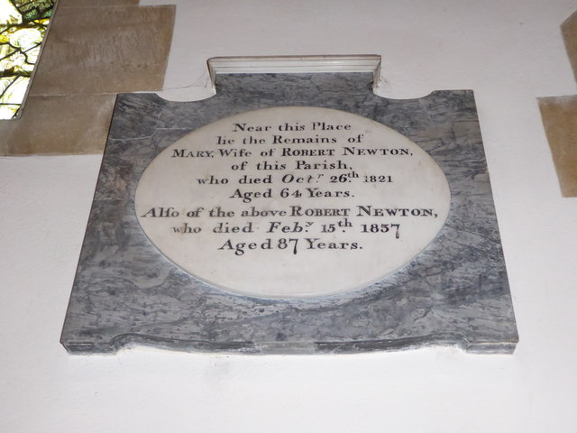 All Saints, Wraxall: memorial (h)