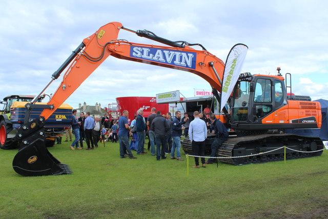 Crawler Excavator, Stranraer Agricultural Show