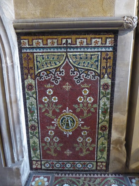 Inside All Saints, Wraxall (d)