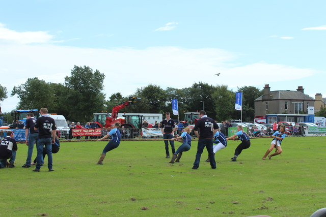 Ladies Tug of War, Stranraer Show
