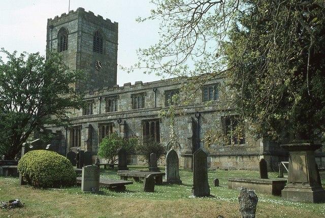 Kirkby Malham church