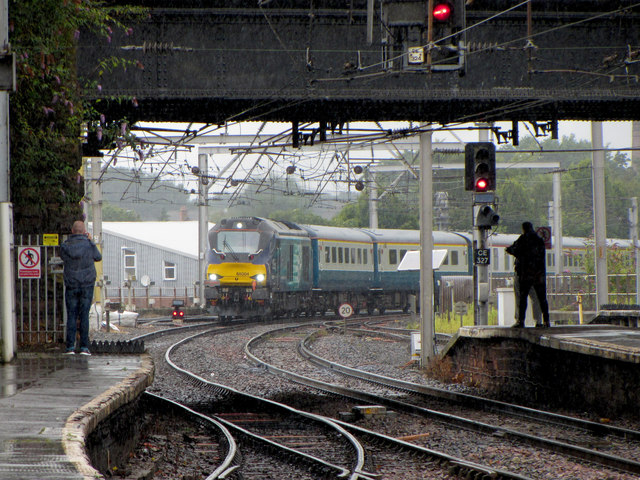 Railtour at Carlisle