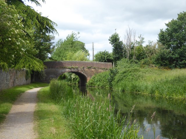 Bathpool Bridge over Bridgwater and Taunton Canal