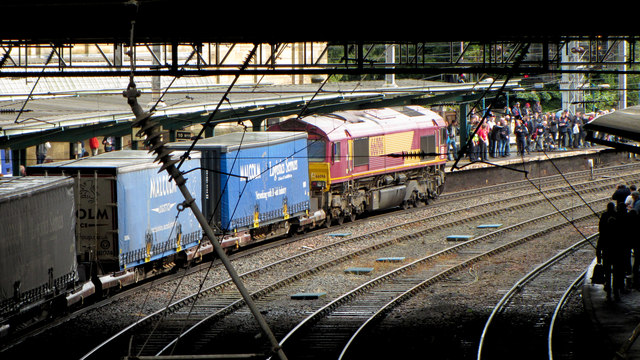Freight train at Carlisle