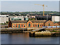 J3576 : Alexandra Dock Pump House, Belfast by David Dixon