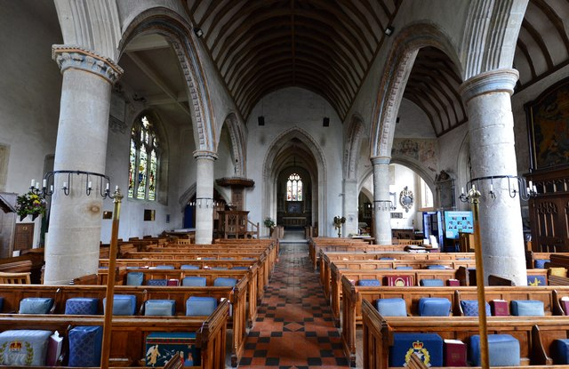 Purton, St. Mary's Church: c13th nave